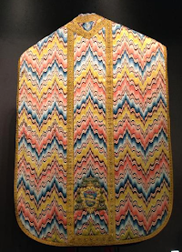 Liturgica Obscura: The Curiosity of Bargello or Flame-Stitch Embroidery Work