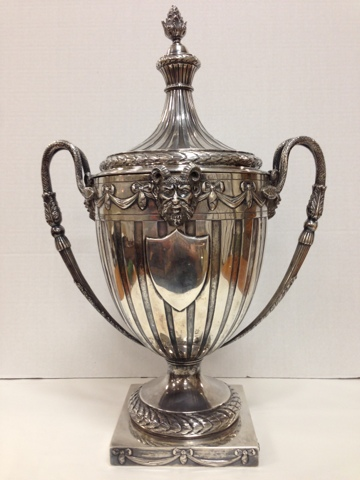Gannon S Antiques Antique Silver Huge Tiffany Sterling Silver Loving Cup Trophy