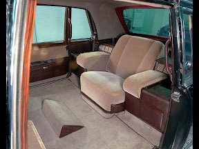 Mercedes Popemobile Interior