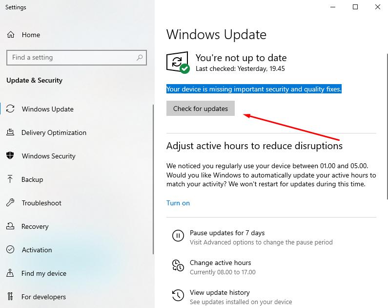 how to fix cpu 100 usage windows 10