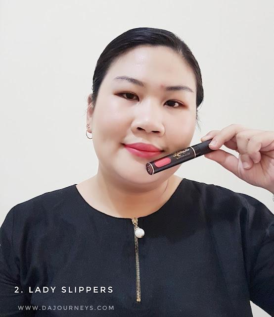 Review Lip Matte Lady Slippers by Dermaluz