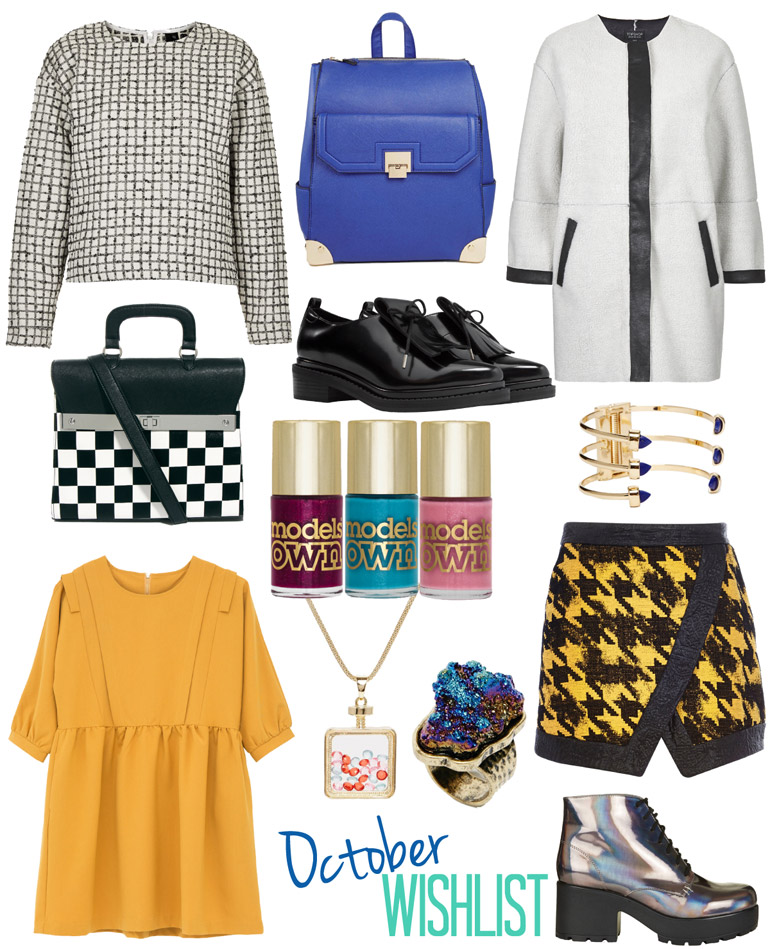 fashion high street wishlist october 2014
