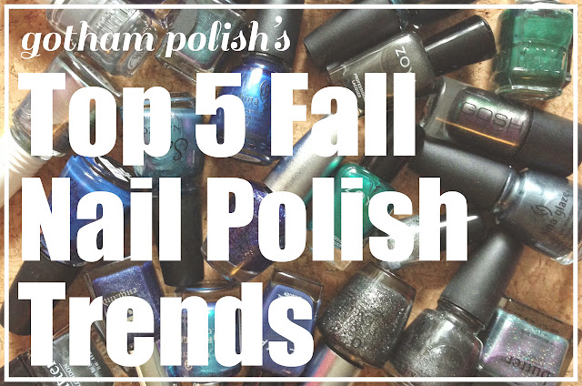 Top 5 Fall 2013 Nail Polish Trends