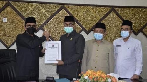 DPRD Kota Padang Gelar Rapat Paripurna Penutupan Masa Sidang I dan Pembukaan Masa Sidang II Tahun 2021