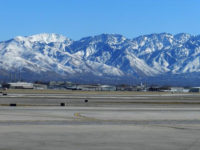 Аэропорт в Солт-Лейк-Сити