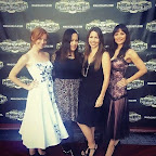 Magic Castle in Hollywood, CA 8.13.14 with Caroline, Heather, and Indra.