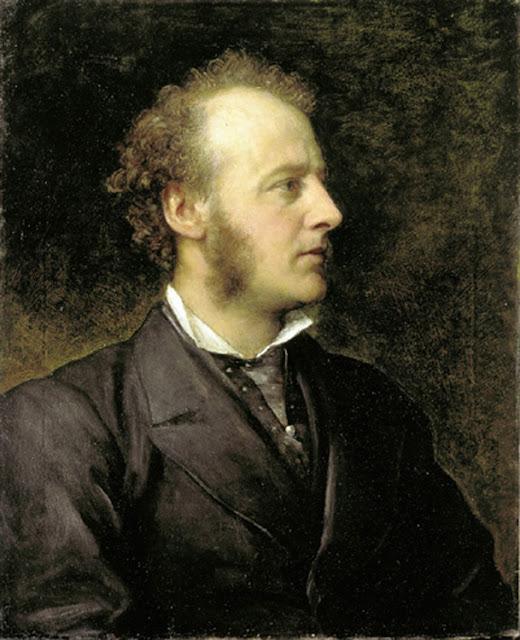 George Frederick Watts - Portrait of Sir John Everett Millais