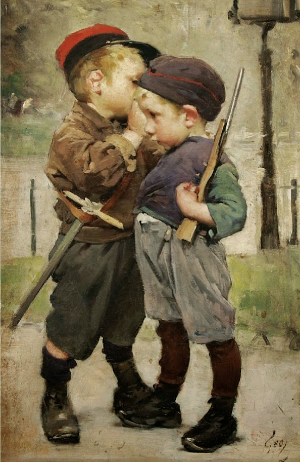 Henry Jules Jean Geoffroy - The Confinement