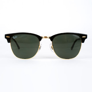 Ray-Ban Clubmaster Sunglasses with Case