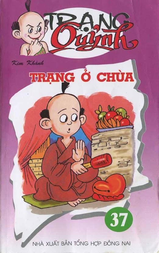 TRUYỆN TRANH TRẠNG QUỲNH - Tập 37: Trạng ở chùa