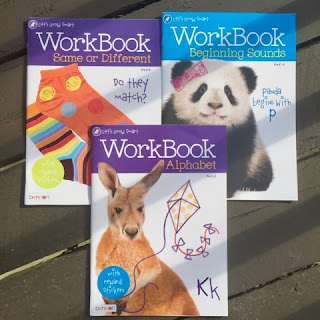 A+ Let's Grow Smart Workbook alphabet beginning sounds same or different thedailyaprilnava homeschool preschool education atlanta georgia top mom mommny blogger