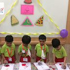 Triangle Day Celebration by Playgroup Afternoon Section at Witty World, Chikoowadi(2018-19)