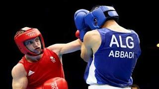JO-2016/Boxe: Lyes Abbadi éliminé en 1/8 de finale.