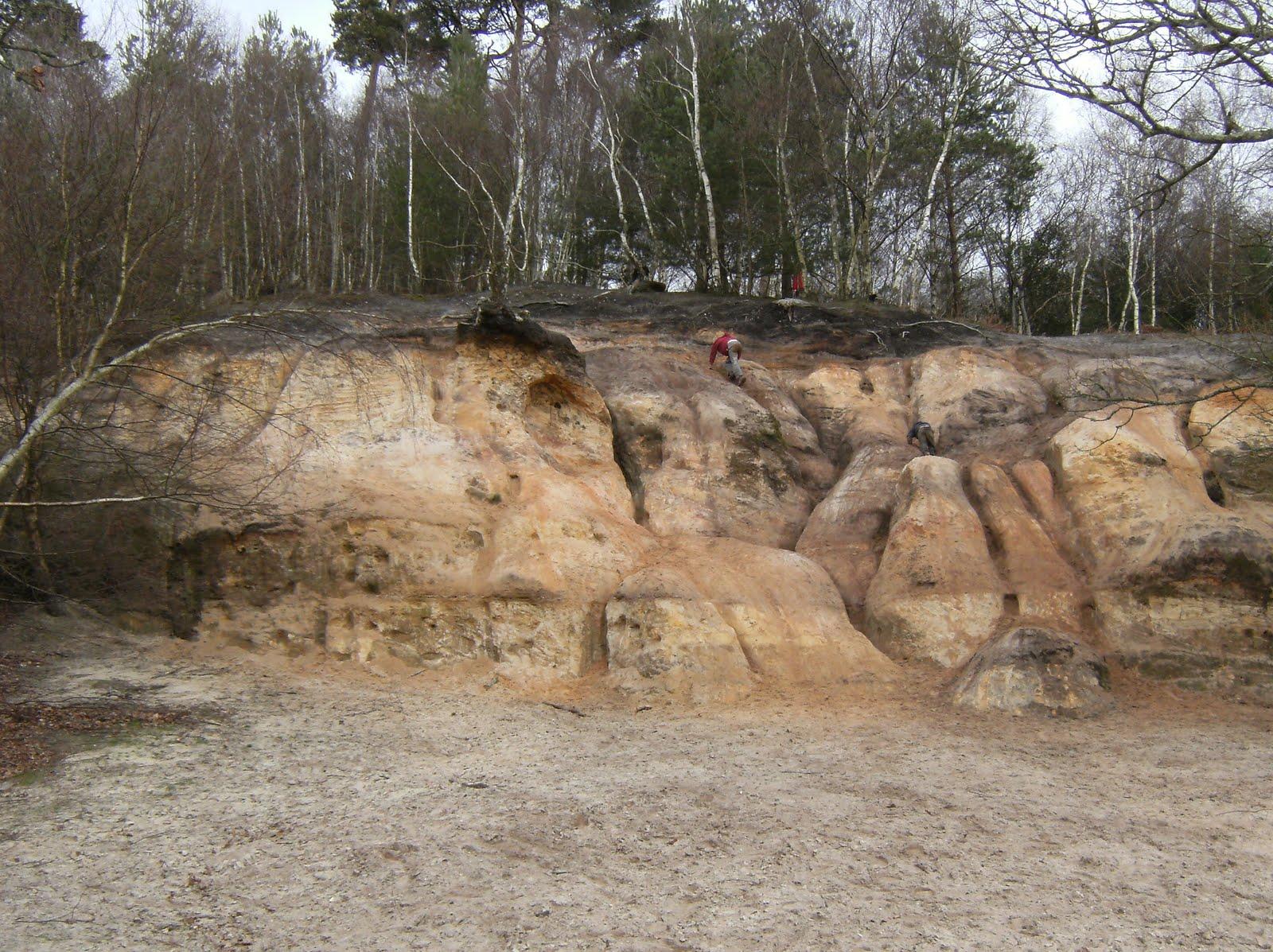 1004050025 Sandstone rocks, Rackham