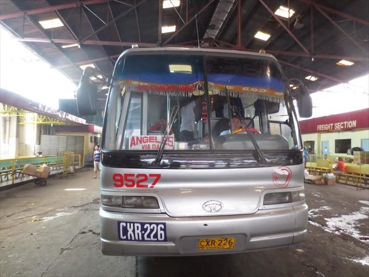 フィリピンラビットの乗車バス