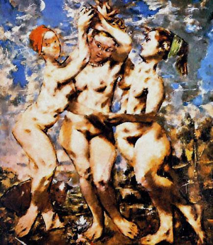 Jack Levine - The Three Graces