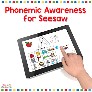 Alphabet Activities for Seesaw Learning preloaded- just click and assign