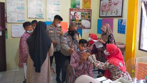 Masyarakat Kecamatan Sungai Limau Padang Pariaman Siap Divaksin