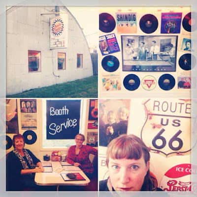 Scenes from Charlie Parker's Diner on Route 66 in Springfield IL