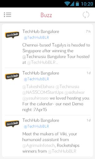 Techhub Bangalore Demo Night