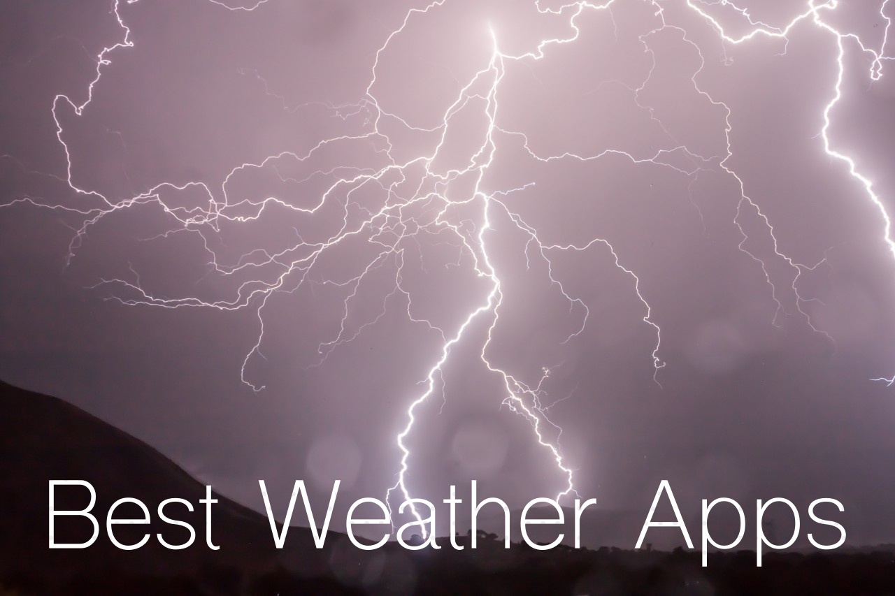 Best Weather Apps for iPhone, iPad & Apple Watch