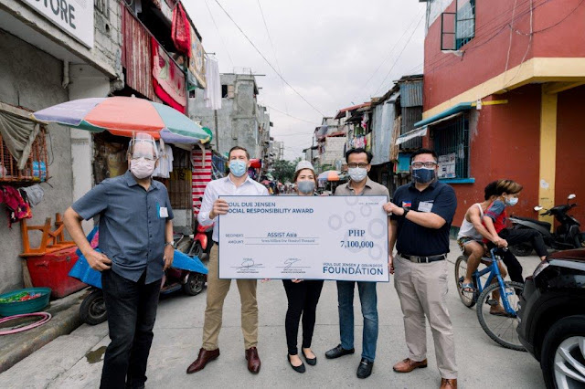 Grundfos Foundation's grant helps bring clean water to Baseco community