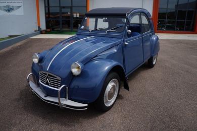Citroën 1964 2 CV AZAM bleu ardoise