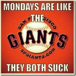 Giants & Mondays suck