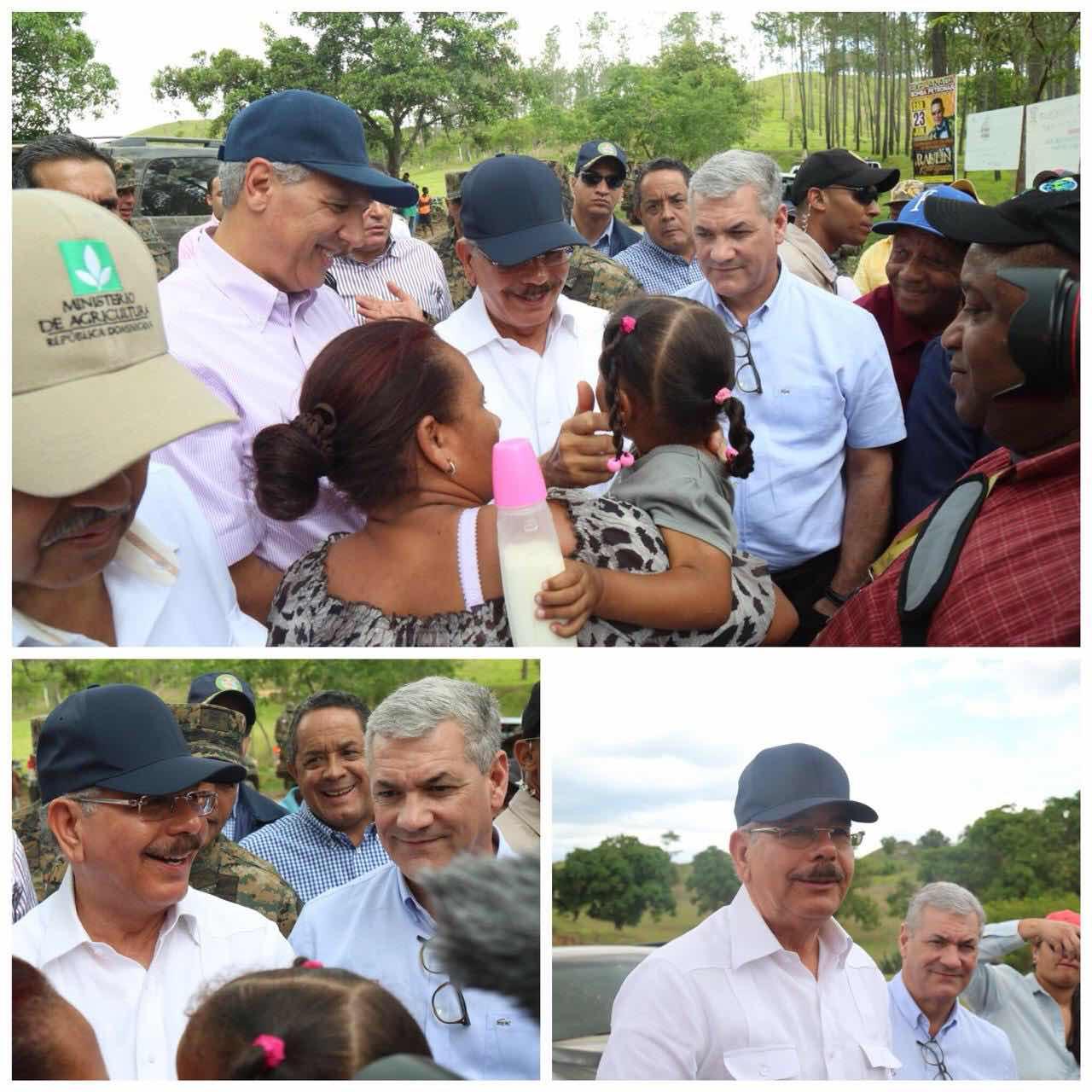 Danilo regresa a la frontera para escuchar necesidades, incrementar arraigo y mejorar condiciones de vida de dominicanos en la zona