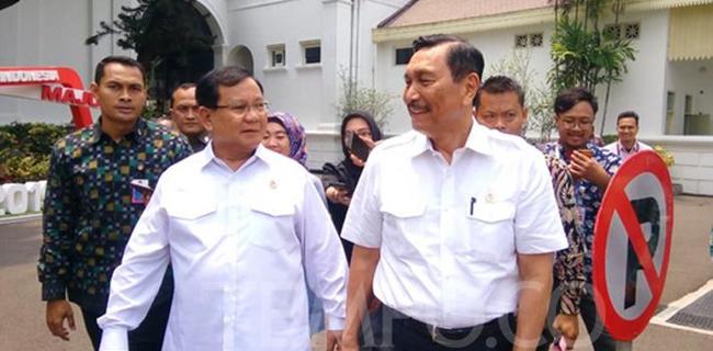 Makan Siang Dengan Sate Kambing Ini yang Dibicarakan Luhut dan Prabowo