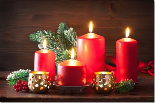christmas candles lantern decoration