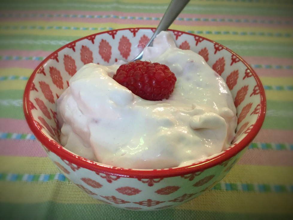 Raspberry Yogurt Fluff