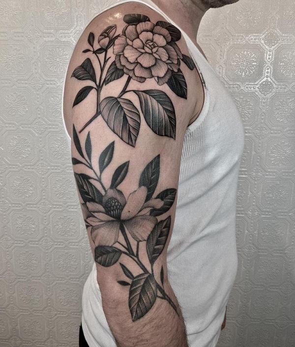 esta_perfeito_ombro_flor_da_tatuagem