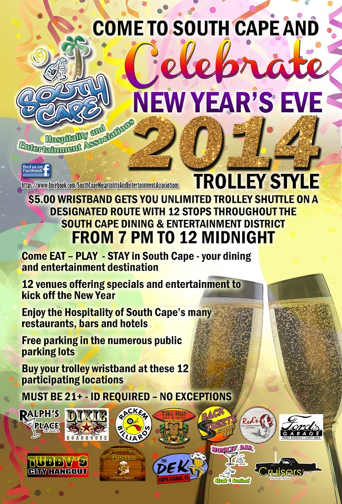 SCHEA New Years Eve Trolley 2014 4x6