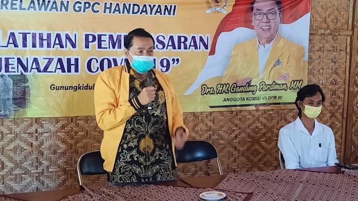 GPC Handayani Gunungkidul Latih Relawan Pelatihan Pemulasaran Jenazah Covid-19