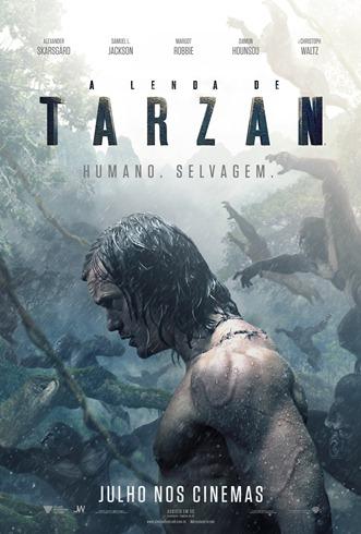 A Lenda de Tarzan - Pôster nacional