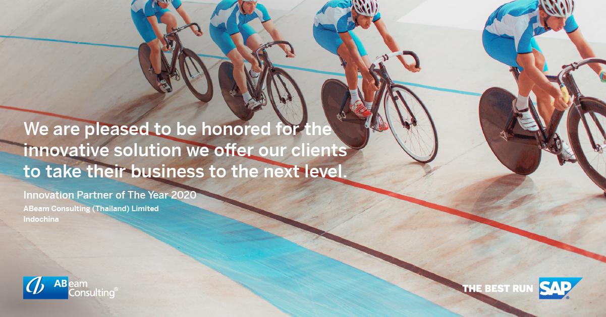 ABeam Thailand คว้ารางวัลยอดเยี่ยมแห่งปี Cloud Partner of the Year 2020 และ Innovation Partner of the Year 2020 จาก SAP ตอกย้ำความเป็นผู้นำด้านที่ปรึกษาระดับโลก