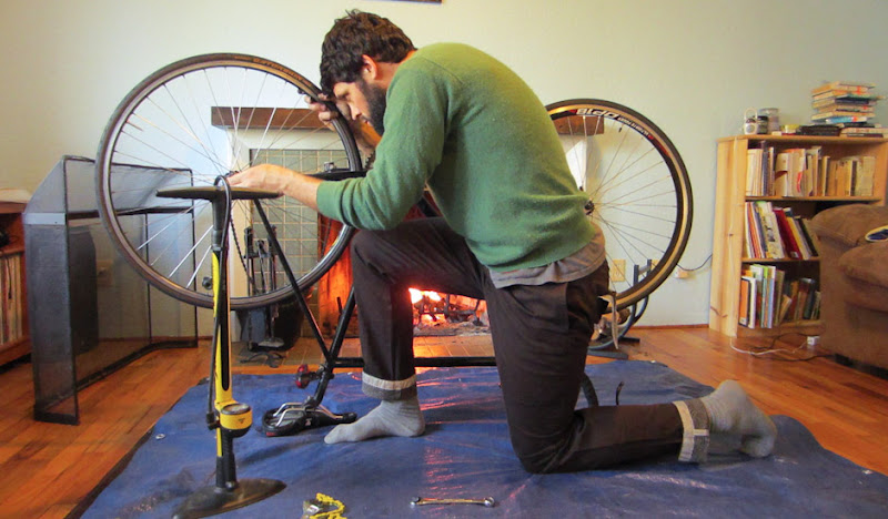 Brown BTW Pants: Fireplace Wheel Fix