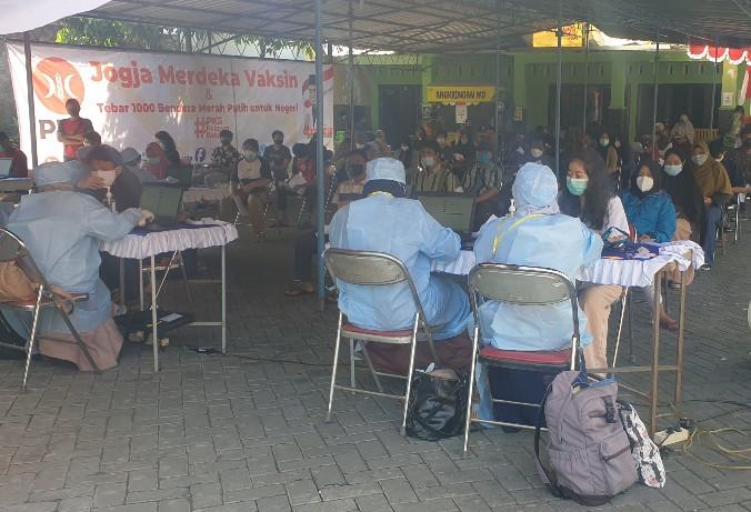 500 Peserta ikuti Jogja Merdeka Vaksin Yang Digelar PKS