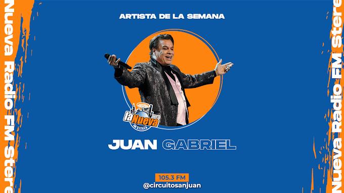 Artista De La Semana: Juan Gabriel, de cantar en el tianguis hasta ser un exitoso compositor
