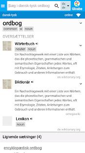 Danish-German Dictionary - náhled
