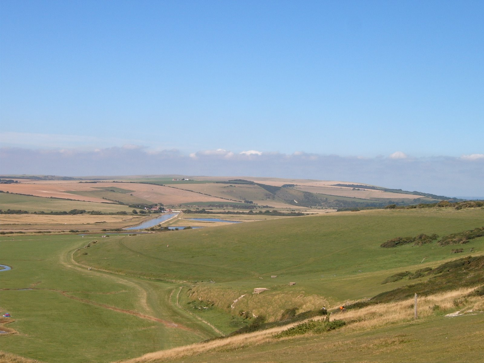 Cuckmere valley from 7 Sisters