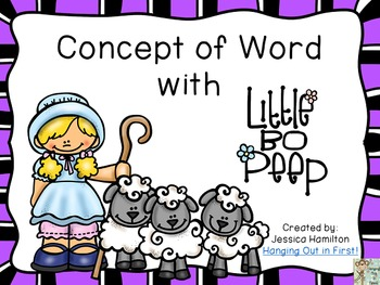 https://www.teacherspayteachers.com/Product/Concept-of-Word-with-Nursery-Rhymes-Little-Bo-Peep-1584292