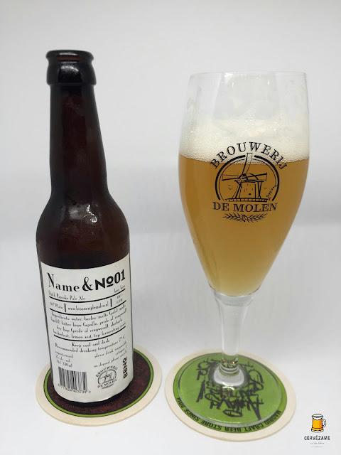 cerveza beer De Molen / Brew By Numbers Name & No. 01 cervezame