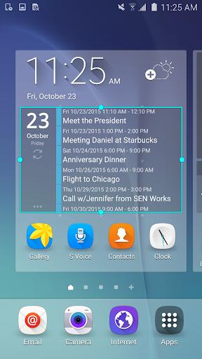 Clean Calendar Widget Pro  screenshots 2