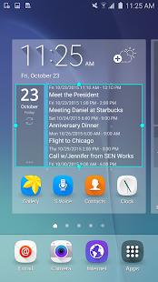 Clean Calendar Widget Pro Screenshot 2