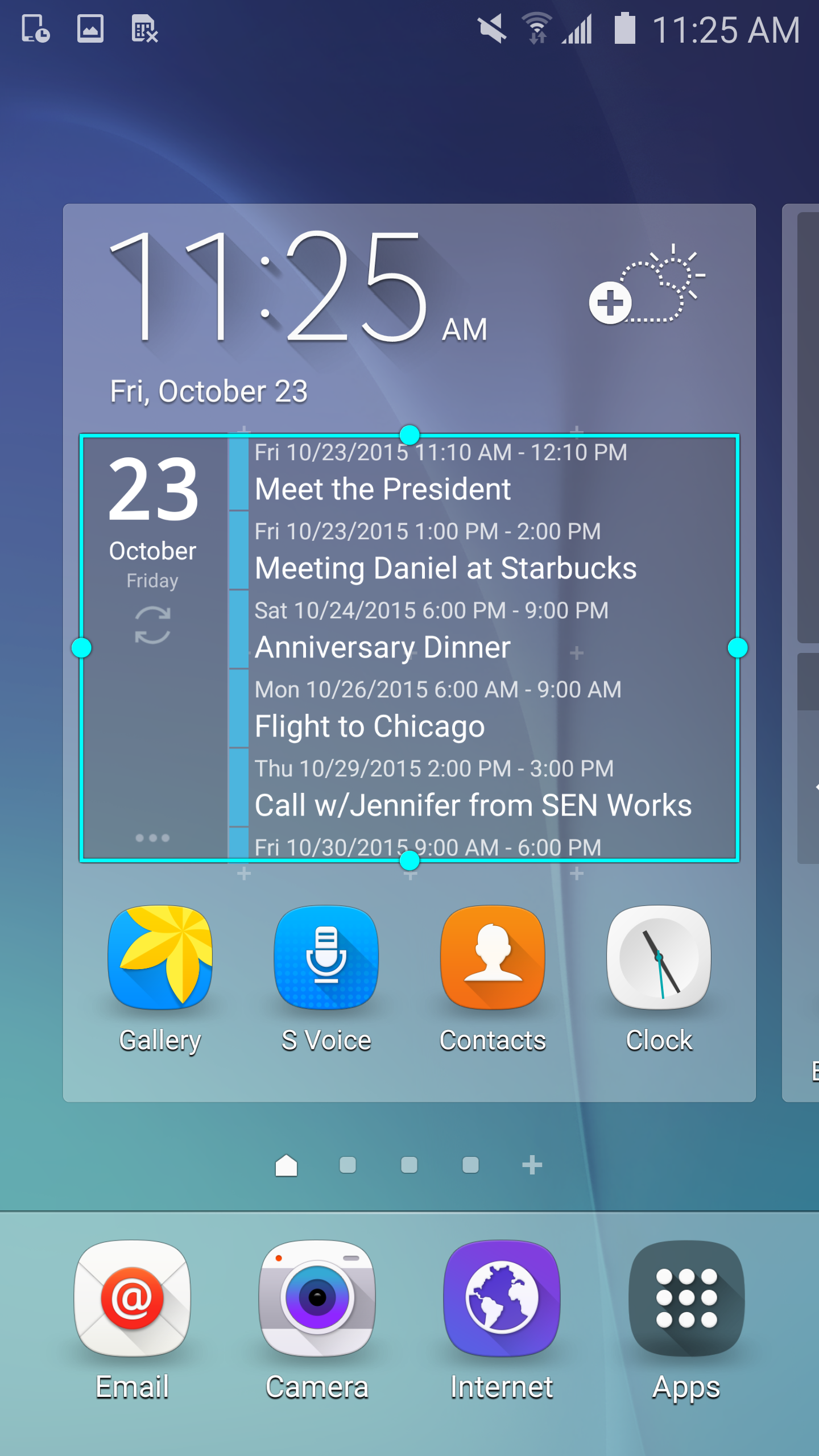 Clean Calendar Widget Pro screenshot #2