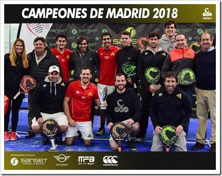 El Vibor-A Team Masculino reconquista Madrid.