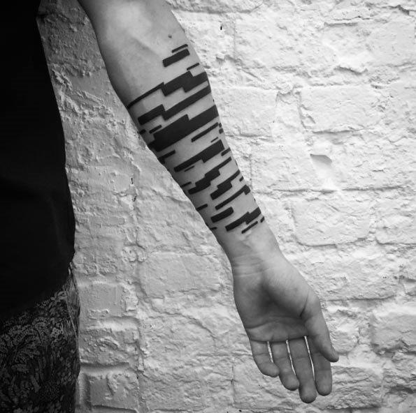 Este incrível braço peça