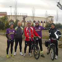 En bici y a pie de Macotera a Salamanca